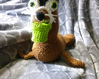 Crochet Gerald the Sea Lion