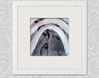 Orig. Image feelings-paintings 15 x 15 cm (5, 9 x 5, 9 inch)