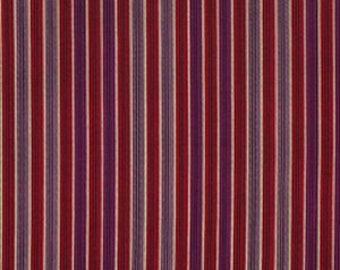 Denyse Schmidt Chicopee Shirt Stripe in Red - One Yard