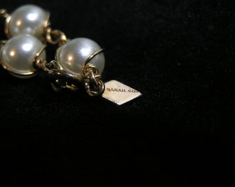 Pearl Swirl Sara Coventry 16 inch necklace