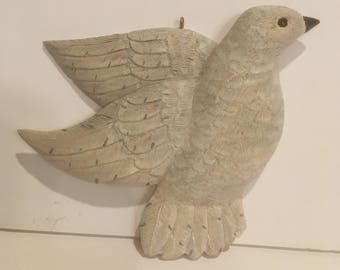 Dove, Hand carved and painted
