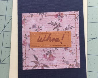 Whoa! - Greeting Card