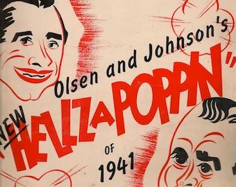 G'Bye Now + Olsen and Johnson, Jay Levison, Ray Evans + 1940 + Vintage Sheet Music