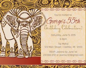 Hindu invitations Etsy
