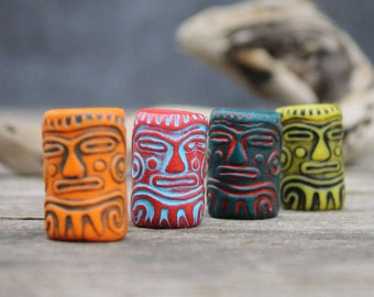 6-22 mm Dread beads tribal beads for dreadlock Loc Jewelry Hair Accessories Loc Accessories dread jewelry Dreadlock Beads jewelry for dread