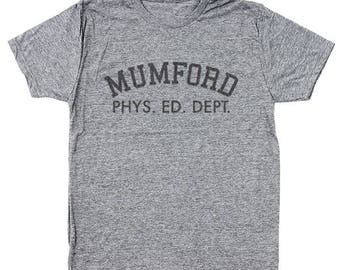 Mumford Phys Ed Dept Funny Beverly Hills Cop Movie 80S Eddie Murphy Men's Tri-Blend T-Shirt DT1530