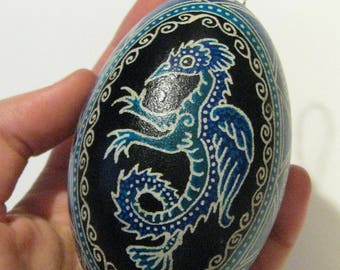 Fish-Bird-Seamonster Pysanka