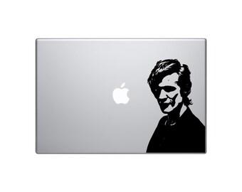 "Matt Smith 11th Doctor- tv series- doctor who- 6"" decal- doctor who decal- doctor who sticker"