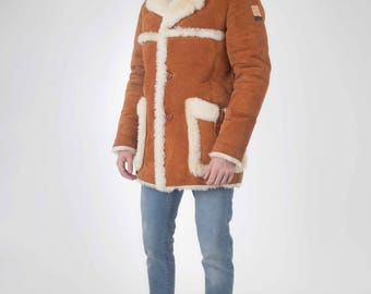 Shearling sheepskin jacket Sheriff