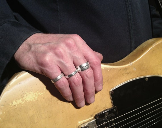 Norman's Snakeskin Pinky Ring