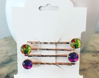 Rose gold bobby pins