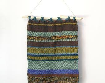 Hand Woven Tapestry - Desert Sand