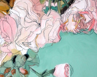 """Transparent//Original Oil Painting//12""""x24"""""""