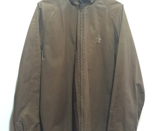 Brown Star Wars Jacket with Storm Troopers Pattern XL