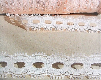 5 Yards=4.57 Meters Pink Lace For Sewing Costume Design Lingerie Dolls clothing's Lamp Shades Scrapbooking Embellishing Trim Floral Supply