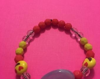 Colorful Emoji Bracelet