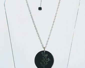 Cherry Blossom Pendant Necklace