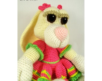 Amigurumi Crochet Girl Bunny Rabbit Easter