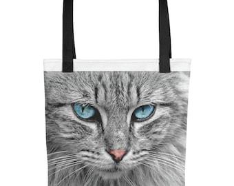 Tote bag wild cat
