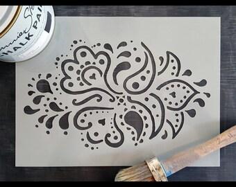 Doodle Reusable Stencil