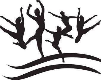DANCE COLLAGE SVG