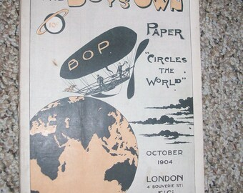 Boys Own Paper, October 1904