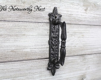 Beautiful Door Handles / Door Pulls / Armoire Pulls / Iron Door Handles /  Iron Door