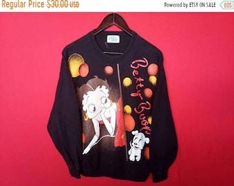 vintage betty boop sweatshirt mens