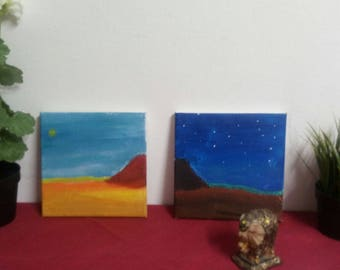 Desert Day & Night