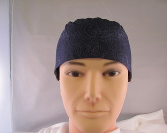 Men's Scrub Hat Blue