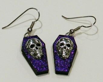 Skull earrings - Reduced price