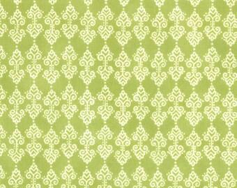 Meadow Friends Spring Green Fabric 1 Yard
