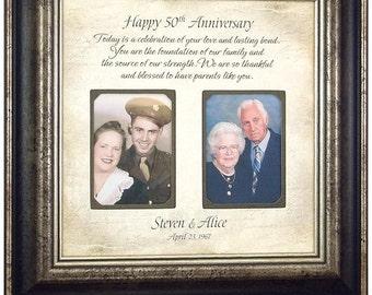 50 Year Anniversary, 50th Cake Topper, Anniversary Party, 50th Anniversary Gift, Golden Anniversary, Parents Anniversary Gift, 16x16