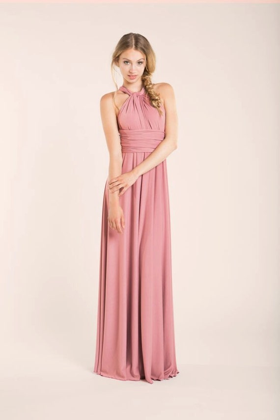 Vestidos de fiesta largos rosa palo – Vestidos de moda en España