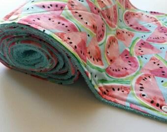 Reusable Paper Towel, Unpaper Towels, Watermelon, Ecofriendly Towels, Kitchen Towels
