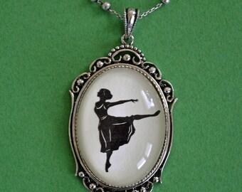 MARGOT FONTEYN Necklace, pendant on chain - Silhouette Jewelry