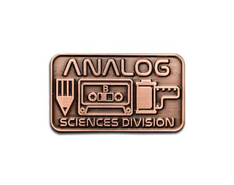 Analog Sciences Division Lapel Pin