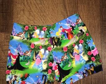 Girls Shorts. Princess Shorts. Kids Shorts. Handmade Shorts