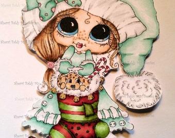 INSTANT DOWNLOAD Digital Digi Stamps Big Eye Big Head Dolls NEW Besties Img692 My Besties By Sherri Baldy