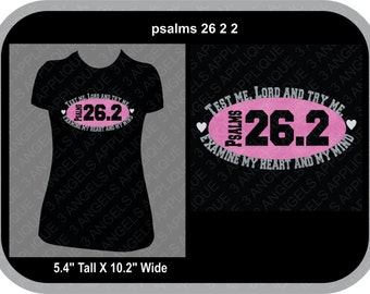 Psalms 26:2 Running  SVG Cutter Design INSTANT DOWNLOAD