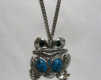 Cute Froggie Necklace on Chain