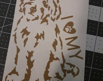 Doodle Doggy Decal