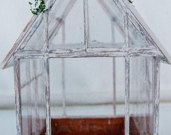 Miniature Doll House Greenhouse 1:12