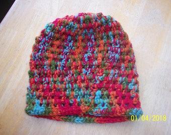 Multicolor Crochet Hat