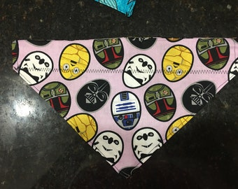 Large over the collar dog bandana