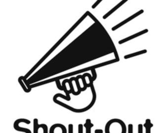 Shoutouts!
