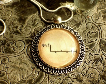 Feingur Magical Icelandic Stave Rune Symbol Pendant Norse Viking Fertility Rune Symbol Necklace Iceland Galdrastafur Magic Pagan Boho Gift