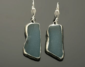 Beach Glass Earring (available in 5 different colors as listed in description)