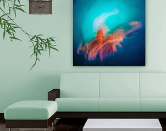 Lion Fish Large canvas Print, Abstract Canvas Art, Modern Wall Art, Modern canvas art, Modern Home Decor, Painting Print, Extra Large Wall
