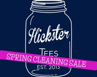 Hickster Canning Jar - Unisex and Ladies'